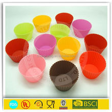 Silicone cupcake mold cupcake holder cups