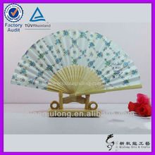Europe style Summer gift for wooden cloth fan
