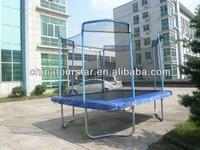 Cheap Trampoline Inflatable Home Gym Equipment Amusement Equipment Square trampoline with Enclosure SX-FT(E)