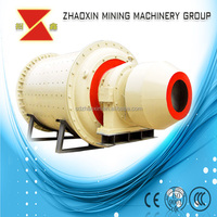 High efficiency ball mill with large diameter double row self-aligning roller bearings