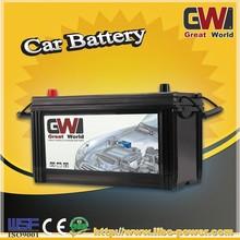 JIS standard Sealed lead acid type N100MF 12V 100Ah Maintenance Free Battery