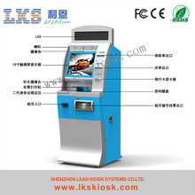 Parking Lot Kiosk With Cold Rool Steel Sheet Material