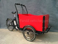 High quality CE safe three wheel electric cargo flatbed tricycle for adults