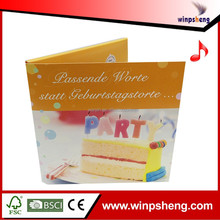Factory Price Wholesale Glitter Greeting Card For New Year 2015