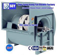 backward inclined electric centrifugal fan