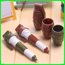 Hand grenade telescopic pen