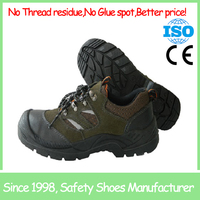 PU sole mesh lining low cut Steel Toe Safety Shoes SF690