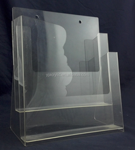 Customized wall mounted acrylic display case
