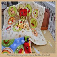 100%polyester Manufactory wholesale baby toys led light blanket
