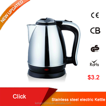 The lowest price stainless steel electric water kettle 1.8L for promotion