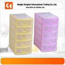 Five layers plastic storage drawer,Storage cabinet, plastic storage container