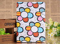 New product from market printing sunflowers notebook case for IPad mini