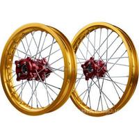 wholesale Dirt bike wheel set , motorcycle front and rear wheel , with wheel rim &wheel hub&spokes