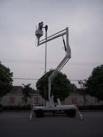 10.5-14m hydraulic crank arm lift table