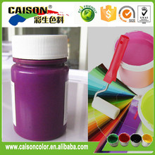 Hot selling Fluorescent Violet interior paint colourants