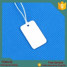 500pcs/set custom logo printed label and tags for jewelry in paper material