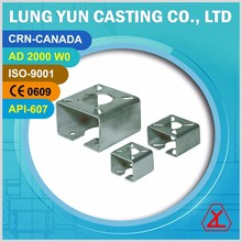 Stainless steel AC Compressor Mounting Flange ISO5211 BRACKET