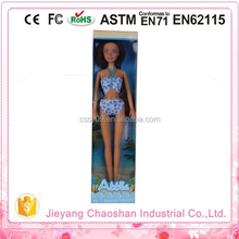 2015 Young Lady 12 Inch Dolls Black Or Brown African Girl Doll Swimsuit Doll