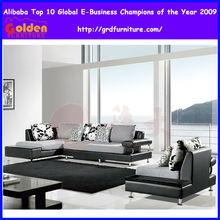 estilo americano de sofá tela conjuntos