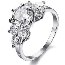 Best selling female jewelry ring girlfriend wedding ring