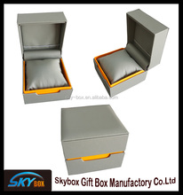 Faux leather gift boxes,man & woman watch box for wholesale