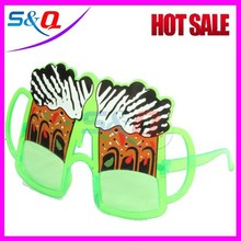 Carnival festival joke Plastic crazy party sunglasses/ funny crazy party glasses