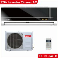 9000BTU TO 36000BTU cooling and heating wall split air conditioner factory