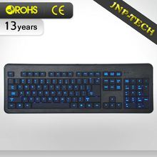Good Price Multicolor Led Oem Compact Wireless Keyboard