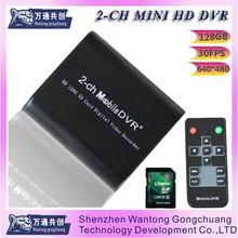 Super 2-way SD card recording DVRsupports external trigger recording / photo and other recording / photo mode