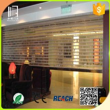 polycarbonate roller shutter door commercial door security bar hanging door