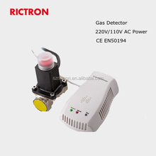 220v AC Gas detector with solenoid valve RCG415