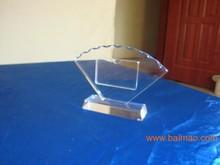 Clear customized acrylic display for desk with elegant desgin