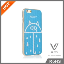 High quality best sale made in china pc silicone newest popular 3d liquid phone case for iphone