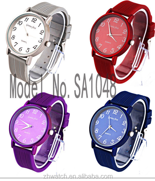 2014 vogue watch fashion,custom watch with multi color