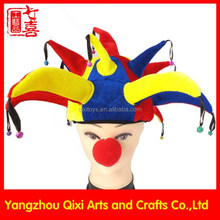 Best selling party 13 horns clown hat carnival clown hat