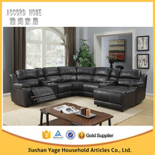 Hot selling Home theater Living corner funiture Leather Luxury Electric Recliner sofa