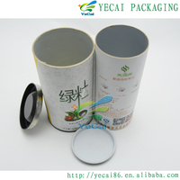 delicate paper gift box paper tea can paper candle packaging box