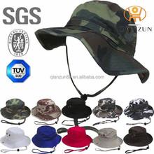 Custom Printed Boonie Bucket Hat With String