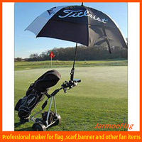 Foldable Straight 3m Sun Umbrella