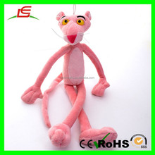 "E442 Long Arms & Legs 15"" Animal Stuffed Doll Plush Pink Panther Toy"
