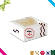 2015 Plain pretty fashion food grade paper cake brie cheese boxes