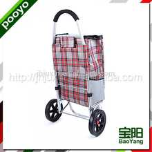 juxin hand trolley two wheel eco bag supermarket