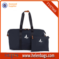 Wholesale high quality fashion foldable travel bag