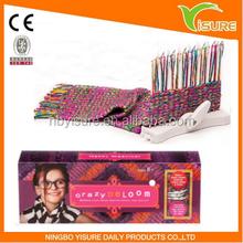 Loopdeloom Weaving Loom Kit 2015 New Popular Promotion Gift For Kids DIY Maker Kit Loopdedoo Crazy Loopdeloom
