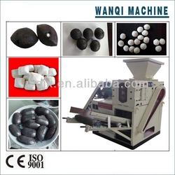 2015 WANQI charcoal briquette making machine/bbq charcoal briquette making machine price/Small Coal Briquette Making Machine