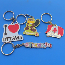 Canadian key chains for promotion key ring gifts