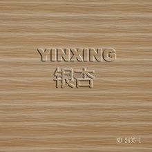 Hot Stripe grain melamine paper for laminated particle board
