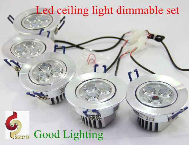 Are Led Ceiling Lights Any Good : Good lighting ce rohs led ceiling spot light pcs w