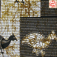wax print dress/batik printing blocks/wax hollandais