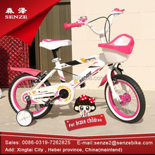 2014 new style pink kids bike child bicycle factory price pocket bike